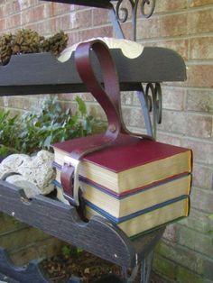 Book Purse from Steamfashion