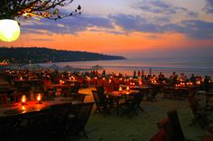 Jimbaran - Beach restaurant