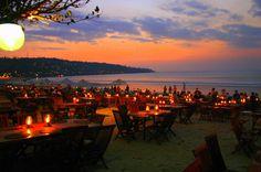 Jimbaran - Beach restaurant