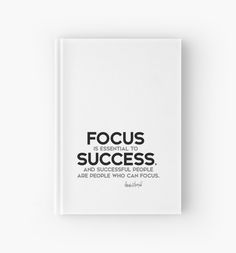 focus is essential to success - donald trump