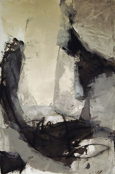 Karen Darling | Fleeting Thoughts | oil, cold wax and charcoal on paper /sm Flickr - Photo Sharing!