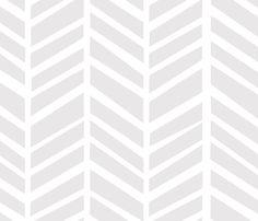 Herringbone Grey by Friztin fabric by friztin on Spoonflower - custom fabric