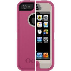 OtterBox Defender Series Case for iPhone 5 - Retail Packaging - Pink