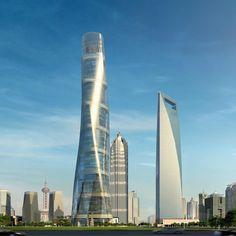 Shanghai Tower - Shanghai - China - 632 m - 128 foors - 2015