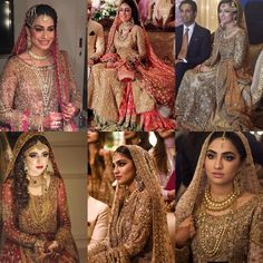How stunning do these brides look on their wedding day! ✨✨ #DrHaroon makes dreams come true! His #workmanship is on another  level! To book a Dr Haroon Bridal get in touch via email on info@hinarasim.co.uk.