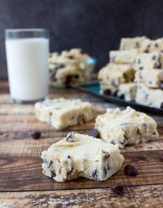 With no stove top, eggs, or candy thermometer required this easy cookie dough fudge may just be the easiest, safest, tastiest way to eat cookie dough yet.