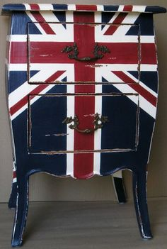 The Union Jack has never been so cool! The Funkyfings Gift Co has a range of funky furniture in different styles and colours.