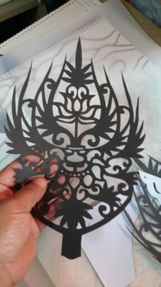 paper cutting Paper Cutting, Paper Crafts, Calligraphy, Decor, Art, Art Background, Lettering, Decoration, Tissue Paper Crafts