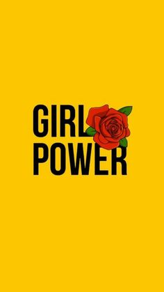 wallpaper, girl power, and yellow image Power Wallpaper, Wallpaper For Your Phone, Tumblr Wallpaper, Screen Wallpaper, Cool Wallpaper, Wallpaper Quotes, Phone Wallpapers Tumblr, Lockscreen Iphone Quotes, Sassy Wallpaper