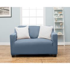 Sanctuary Lucerne Loveseat Slipcover By Sanctuary Green