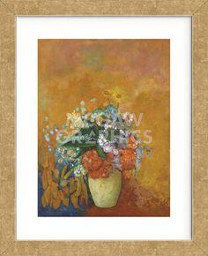 Vase of Flowers, c.1905 (Framed)