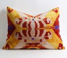 Ikat Pillow Case - Decorative Pillows For Couch Sofa Pillows Tribal Pillow Decorative Cushion Ethnic Pillow Cover by pillowme on Etsy https://www.etsy.com/listing/169888644/ikat-pillow-case-decorative-pillows-for