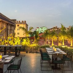 """El Cocinero Restaurant - Obamas went, chic clientele and atmosphere feels like the """"new Cuba""""—snag a table outside under the trees. Per Boosh, hated it - super trendy, food and service was awful."""