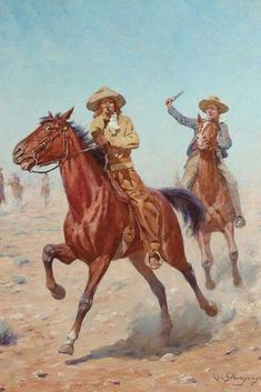 THIS IMAGE HAS BEEN UPLOADED BY #DVAKOJOTISTUDIO Western Wild, Wild West, Westerns, David, Painting, Image, Art, Painting Art, Kunst