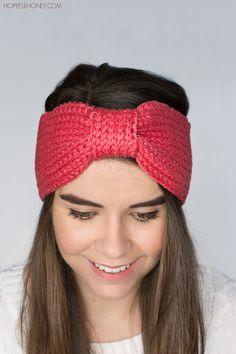 Coral Candy Headband - Free Crochet Pattern