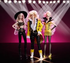 https://flic.kr/p/fcJASd | THE STINGERS! Riot Minx Rapture Jem and the Holograms integrity toys 2013 hasbro dolls fashion royalty
