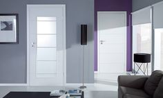Lakované dveře SONYA    Jednoduché a elegantní dveře, které se hodí do každého prostoru. Barvu dveří si zvolíte podle vzhledu vašeho interiéru. Tall Cabinet Storage, Furniture, Home Decor, Summer, Decoration Home, Summer Time, Room Decor, Home Furnishings, Home Interior Design