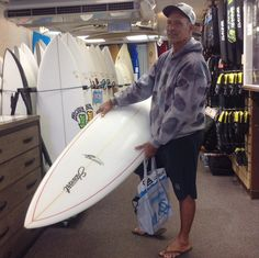"Thank you Jason for stopping by. Enjoy surfing bigger waves on your new Stewart Surfboards S-winger 7'0""!! Come back and visit us soon! ‪#‎hawaiiansouthshore‬ ‪#‎yoursurfboutique‬ ‪#‎mahalo‬ ‪#‎surfboard‬ ‪#‎stewartsurfboards‬"