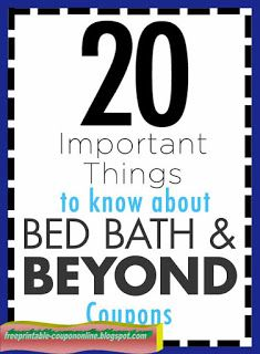 20 Things You Need To Know About Those Famous Bed Bath Coupons Mcdonalds Coupons, Pizza Coupons, Kfc Coupons, Grocery Coupons, Things To Know, Cool Things To Buy, Best Buy Coupons, Home Depot Coupons, Jcpenney Coupons