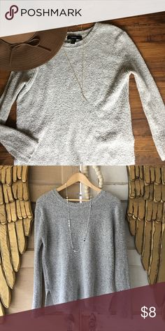 Gray Boulce Sweater Cozy sweater that has been my fave staple sweater. Forever 21 Sweaters Crew & Scoop Necks