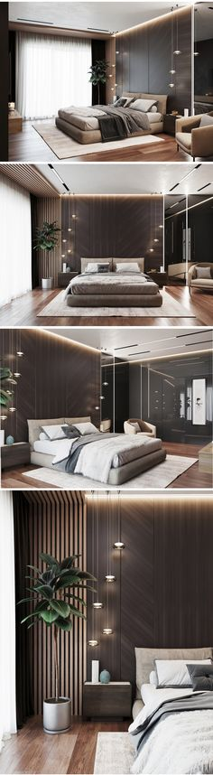 Interior Home Design Trends For 2020 - New ideas Modern Luxury Bedroom, Master Bedroom Interior, Luxury Bedroom Design, Bedroom Closet Design, Modern Master Bedroom, Bedroom Furniture Design, Home Room Design, Luxurious Bedrooms, Home Decor Bedroom