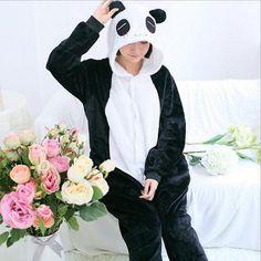 Panda Bear Pajamas, Pajamas, anime products, anime, free shipping