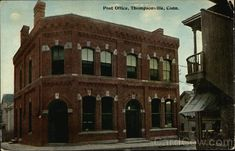 Street View of Post Office Thompsonville