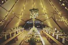 Beautifully magical atmosphere inside our Tipis with a thousand fairies & a simple, fresh, botanical & rustic table scape at our Beautiful Botanical Autumn Open Weekend Shot by threesixsevennine ‪ ‪ ‪ ‪ ‬‪ ‪ ‪ ‪ ‪ ‪ ‪ ‪ Wedding Set Up, Tipi Wedding, Wedding Ideas, Botanical Wedding, Opening Day, Derbyshire, Rustic Table, Fairy Lights, Glamping