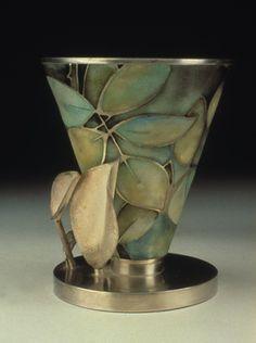 Linda Darty: Metalsmith & Enamelist, Vessel, 2010 - stunning vase.
