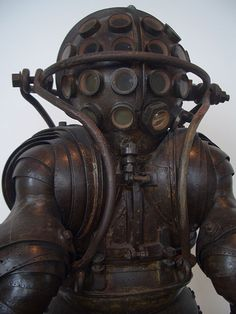 Carmagnolle Diving Suit, 1882