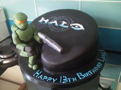 Halo Helmet Cake padoora Funny Pictures Pinterest Halo
