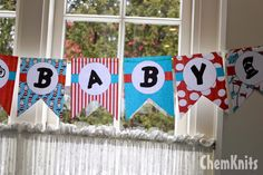 ChemKnits: Dr. Seuss Baby Shower Banner - FREE PRINTABLE!