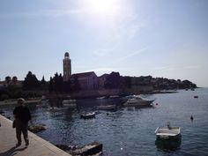 Ao longe Mosteiro Dominicano-Hvar-Croácia