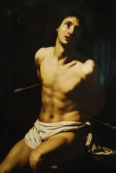Dresden - Zwinger - Gallery of Old Masters - Saint Sebastian, via Flickr.