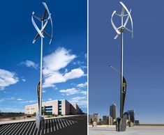 The New Sanya Skypump is a Wind and Solar-Powered Electric Vehicle Charger! | Inhabitat - Green Design, Innovation, Architecture, Green Building