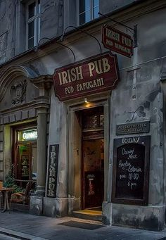 Irish Pub in Krakow, Poland