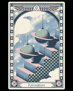Are Tarot Cards Witchcraft? Space Illustration, Graphic Design Illustration, Dragons, Futuristic Art, Art Graphique, Graphic Design Posters, Illustrations And Posters, Art Inspo, Abstract