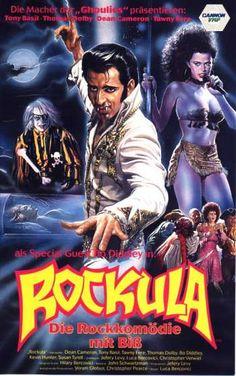 Rockula (1990) German cover art