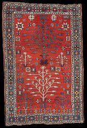 Antique Caucasian Tree Kazak Rugs