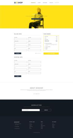 Buy ECOSHOP - Multipurpose eCommerce PSD Template by webduck on ThemeForest. ECOSHOP is high quality eCommerce PSD Templates which designed for commercial use like clothes, cosmetics, furniture,. Psd Templates, Ecommerce Template, Minimal Design, Ux Design, Shopping Bag, Profile, Image, Minimalist Design, User Profile
