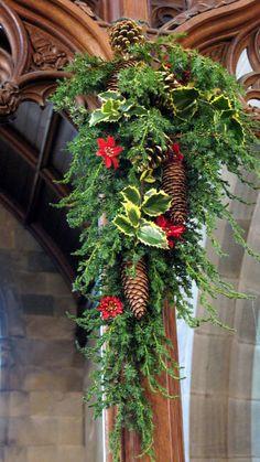 Church Christmas Flowers 037