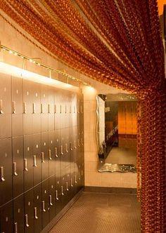 Womens Locker Room Mid City Gym Times Square http://www.facebook.com/pages/Gym-Design/105365056322370 Fitness Center Design and Branding By Cuoco Black. Gym Interior Design Strategies. How To Design A Gym. #fitnesscenter #gymdesign #gym #cuocoblack #fitnesscenterdesign