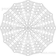 Oval, square, rectangle, circle and more. Crochet for beginners. - a post by Marina (Marina) in the Crochet community in the Crochet category for beginners Mandala Au Crochet, Crochet Mat, Crochet Diagram, Crochet Stitches Patterns, Crochet Squares, Crochet Home, Thread Crochet, Stitch Patterns, Crochet Handbags
