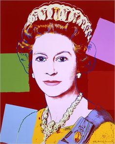 Queen Elizabeth II - Andy Warhol