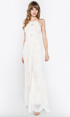 ed30f1358fa Bodysuits + Jumpsuits. Backless JumpsuitWhite ...
