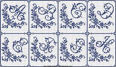 Free Easy Cross, Pattern Maker, PCStitch Charts + Free Historic Old Pattern Books: Sajou No 603