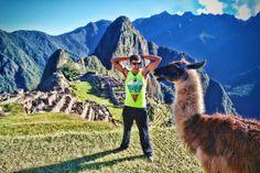That's one happy llama. Or alpaca, whatever.