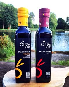 We are so proud of our Balsamic Vinegars...#SaladsDipsDressings #TheOliveShop #NaturalFlavour #UK #FreeFromSulphites #Greece #Mmm