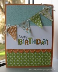 bring on the cake stampin up