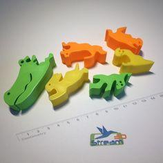 Alligator 3D puzzle 3D Print 112358